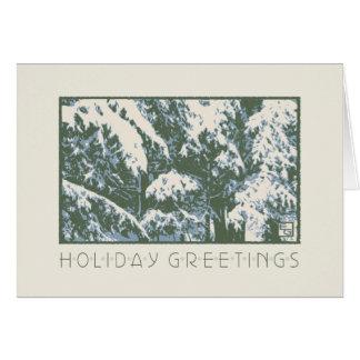 Craftsman Balsams in Snow Card
