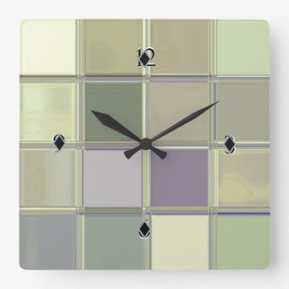 Craftsman Digital Art Sleek Acrylic Custom Clock