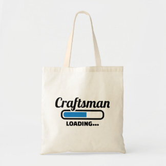 Craftsman loading tote bag