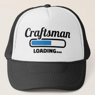 Craftsman loading trucker hat