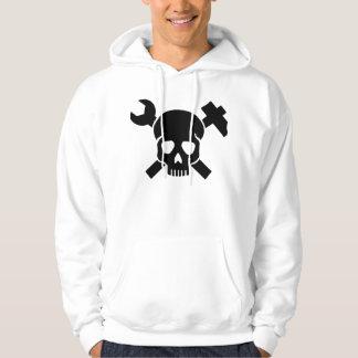 Craftsman skull hoodie