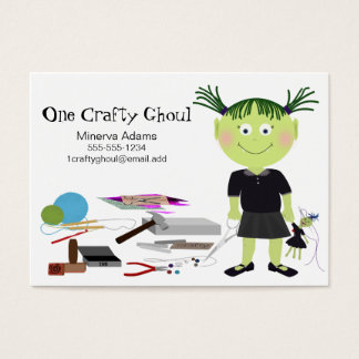 Crafty Girl Ghoul Business Card