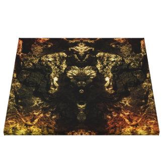 Crag Stretched Canvas Print
