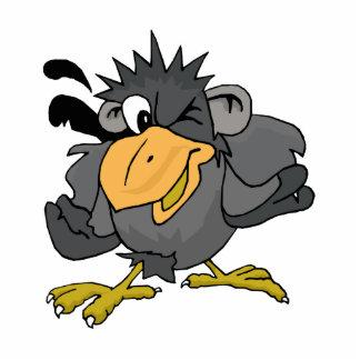 Cragy Crow Standing Photo Sculpture