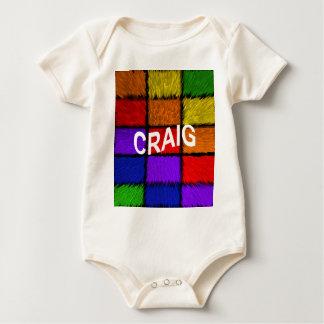 CRAIG BABY BODYSUIT