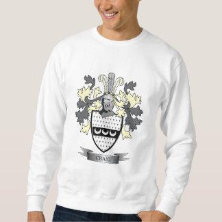 Craig Family Crest Coat of Arms Sweatshirt
