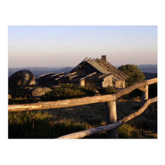 Craig's Hut at sunrise Postcard