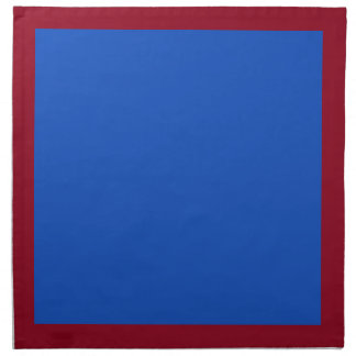 Cranberry and Blueberry-Colored Napkins