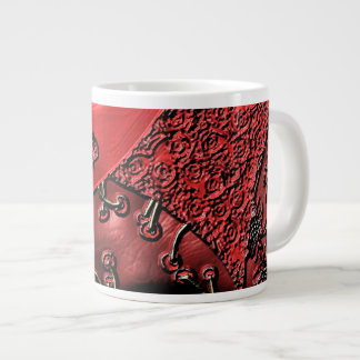 Cranberry Bazaar Large Coffee Mug