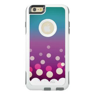 Cranberry-Blue Bubbles OtterBox iPhone 6/6s Plus Case