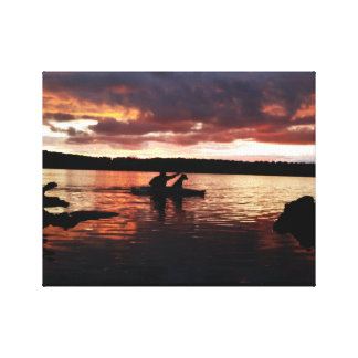 Cranberry Lake Adventure Canvas Print
