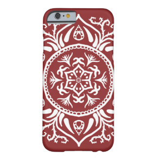 Cranberry Mandala Barely There iPhone 6 Case
