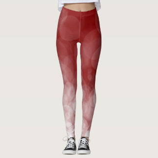 Cranberry Spotted - Leggings