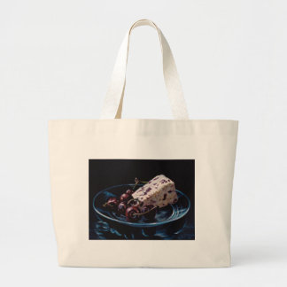 Cranberry Stilton with Cherries Large Tote Bag