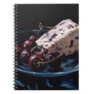 Cranberry Stilton with Cherries Notebooks