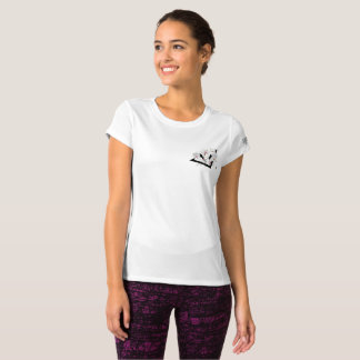 crane and flower T-Shirt