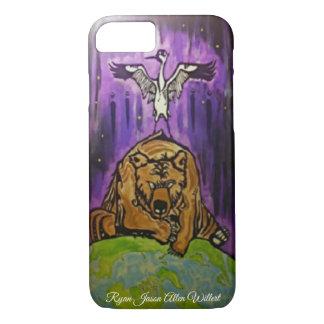 Crane Bear Phone Cover
