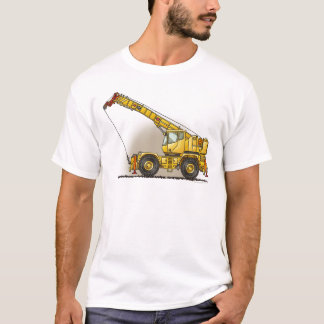 Crane Construction Equipment Mens T-Shirt