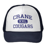 Crane Cougars Junior Yuma Arizona Hats
