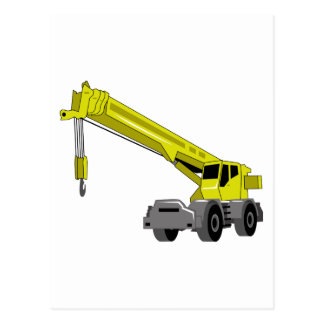 Crane Equipment Postcard