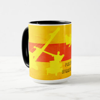 CRANE OPERATOR CABLE SHOVEL MODEL A TRUCK SW COLOR MUG