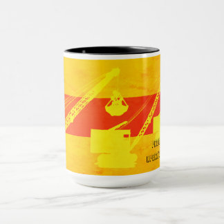 CRANE OPERATOR FRICTION CRAWLER SOUTHWEST COLORS MUG