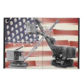 Crane Operator Northwest Crane USA Flag Vintage iPad Air Case