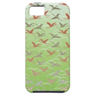 Crane Pattern iPhone 5 Case