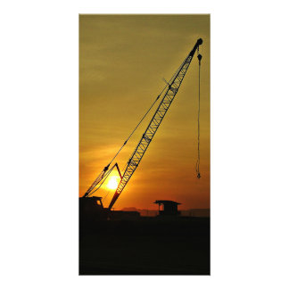 crane personalized photo card