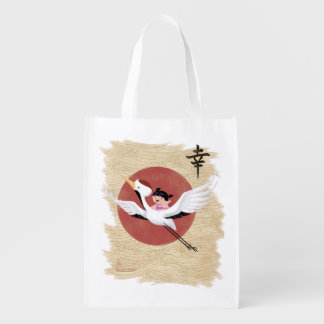 Crane Ride Reusable Bag