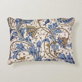 Crane's Pomegranate and Teazle in Blue Decorative Cushion