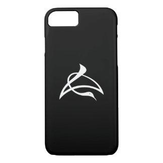 Crane-shaped kanji characters for Cho iPhone 7 Case