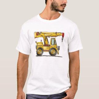 Crane Truck Construction Apparel T-Shirt