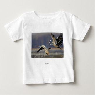 Cranes Baby T-Shirt