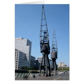 Cranes Card