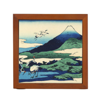 Cranes Fly Toward Mountain Pencil/Pen Holder