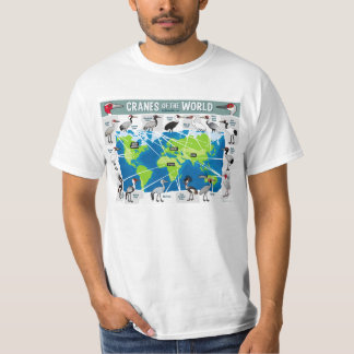 Cranes of the World T-Shirt