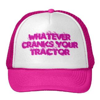 Crank your tractor Trucker Hat