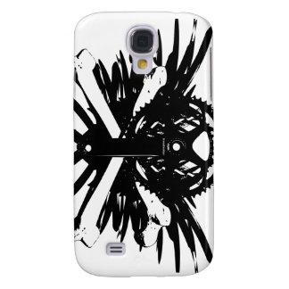 Crankset and Crossbones - black Samsung Galaxy S4 Case