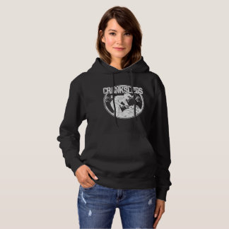CrankSleds Logo - White - Woman Hoodie