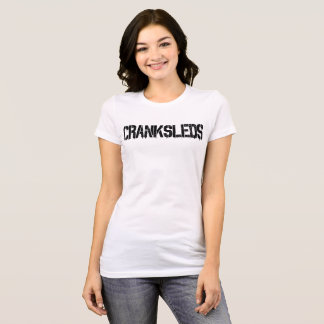 CrankSleds Typo - Black - Woman T-Shirt