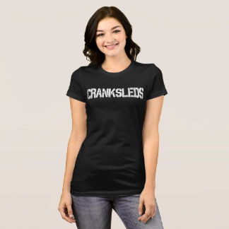 CrankSleds Typo - White - Woman T-Shirt