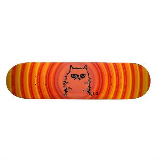 Cranky Cat Skateboards, Funny Skate Board Deck