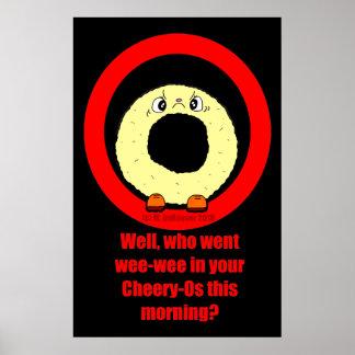 Cranky Cheery O Morning Poster