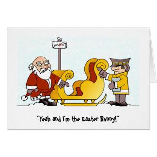 Cranky Christmas Card. Card