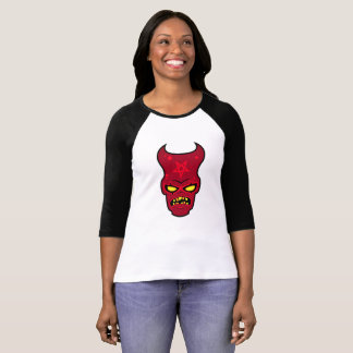 Cranky Demon Illustration T-Shirt