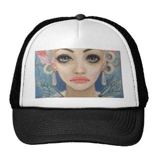 Cranky Fairy Original Art Cap
