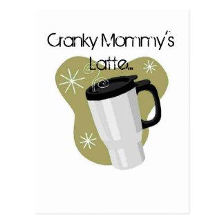 Cranky Mommy's Latte Postcard