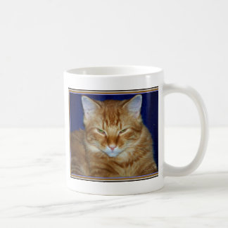 Cranky Orange Maine Coon  Coffee Mug