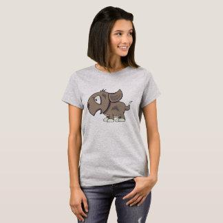 Cranky Pup Illustration T-Shirt